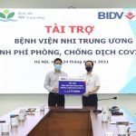 Joint Stock Commercial Bank for Investment and Development of Vietnam (BIDV) supports the National Children's Hospital in COVID-19 prevention and control
